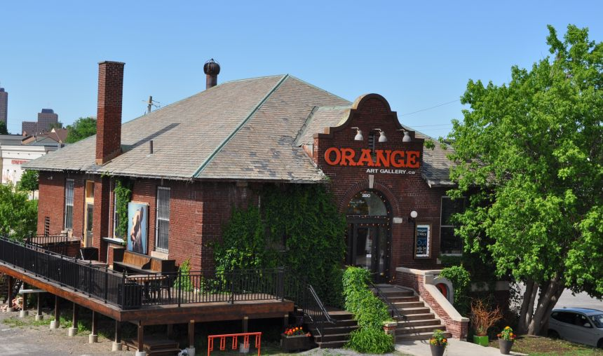 Orange Art Gallery Image 290 City Centre Ave., Ottawa, Ontario, Canada, 613.761.1500 shop online